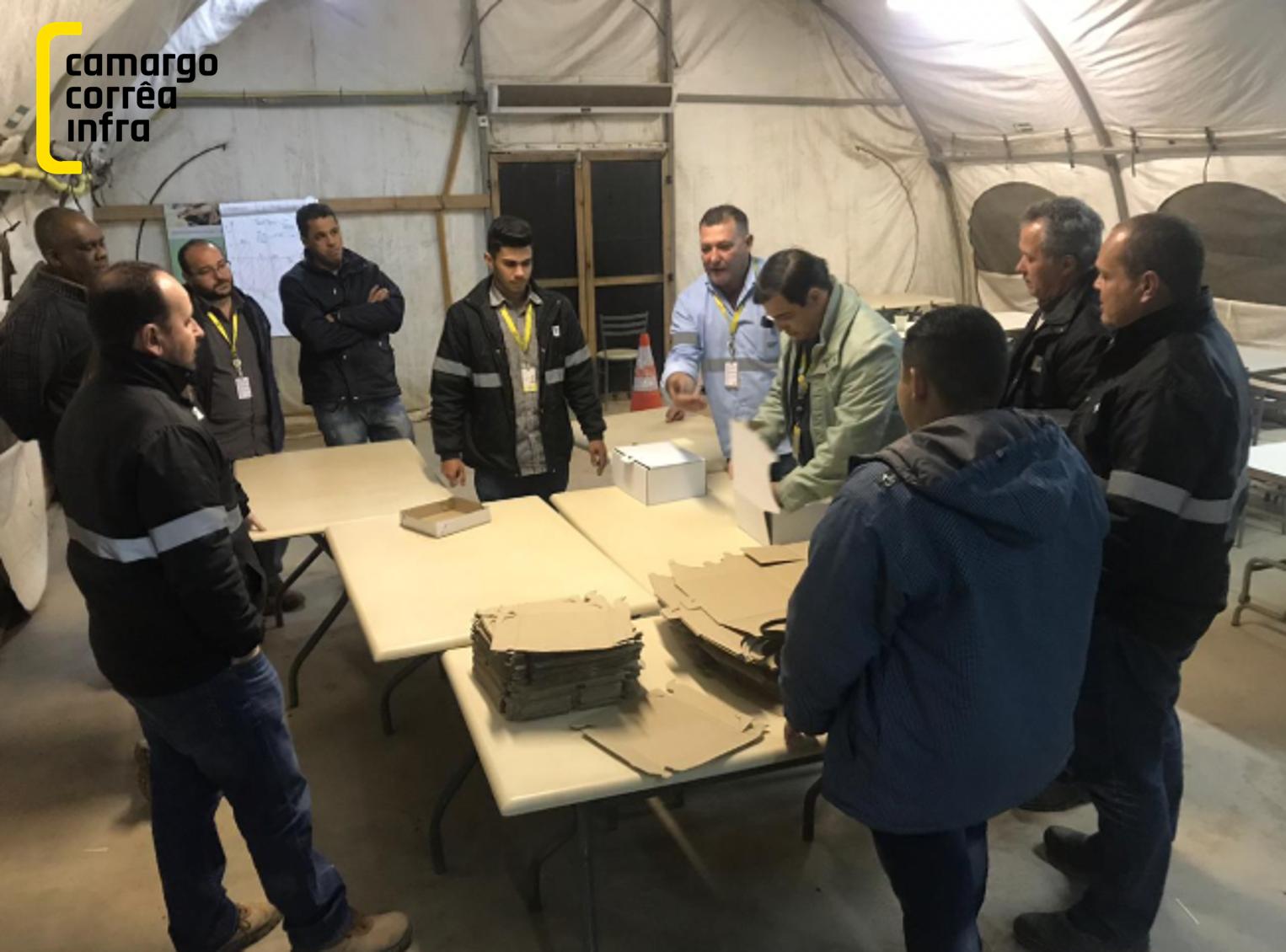 CCInfra: treinamentos presenciais de Lean Construction